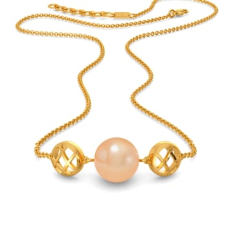 Peach Perfect Gemstone Necklaces