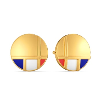 A Prep Step Gold Earrings