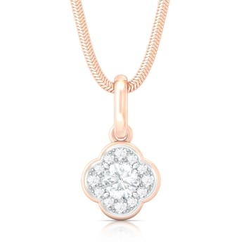 Eternity Blossoms Diamond Pendants