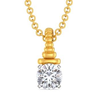 Solitaire Search Diamond Pendants