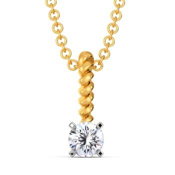 Seize the Solitaire Diamond Pendants