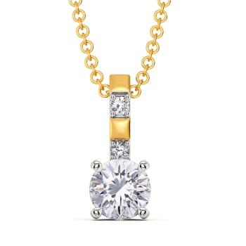 Scope to Square Diamond Pendants