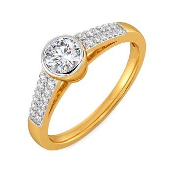 Language of Love Diamond Rings