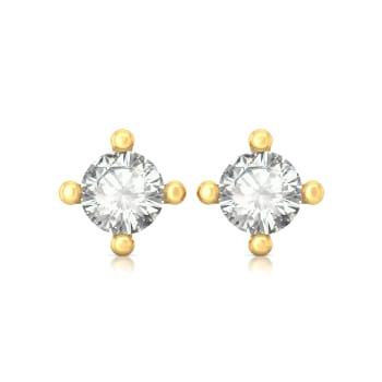 Sparkle Spot Diamond Earrings