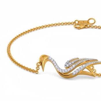 Swan Serenity Diamond Bracelets