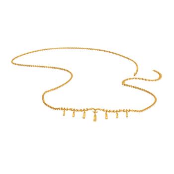 Scroll O Dante Gold Waist Chains