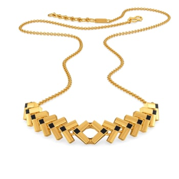 Loud N Leather Gold Necklaces