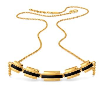 Matrix Fashion Gold Necklaces