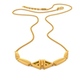Peppy Glow Gold Necklaces