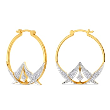 Passion For Patterns Diamond Earrings