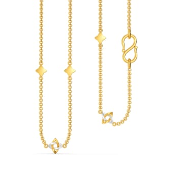 Loop Labelled Gold Chains