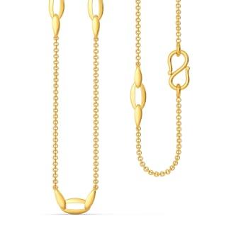 My Kinda Loops Gold Chains
