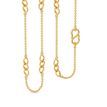 Twister Whisper Gold Chains
