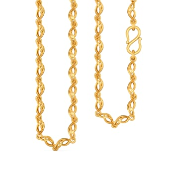 Mavey Wavy Gold Chains