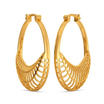 Fantasy Finds Gold Earrings