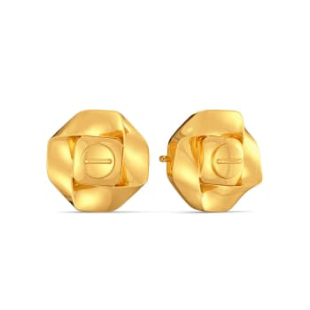 Urban Jungle Gold Earrings