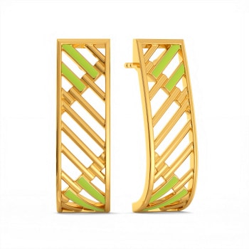 Neon or Nothing Gold Earrings
