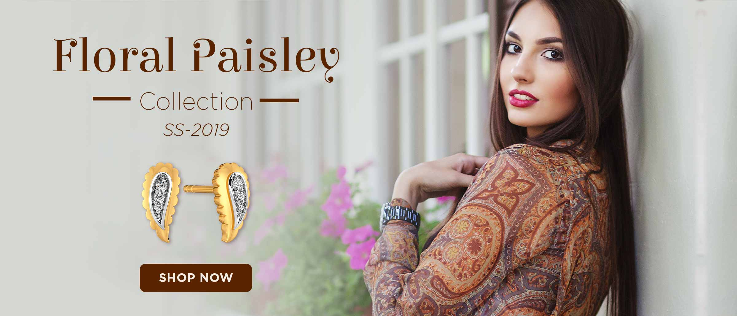Floral Paisley Collection!
