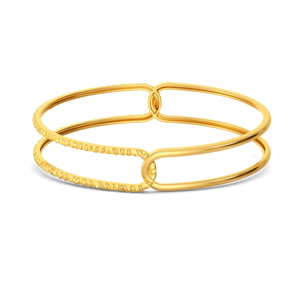 Call Of The Wild Gold Bangles