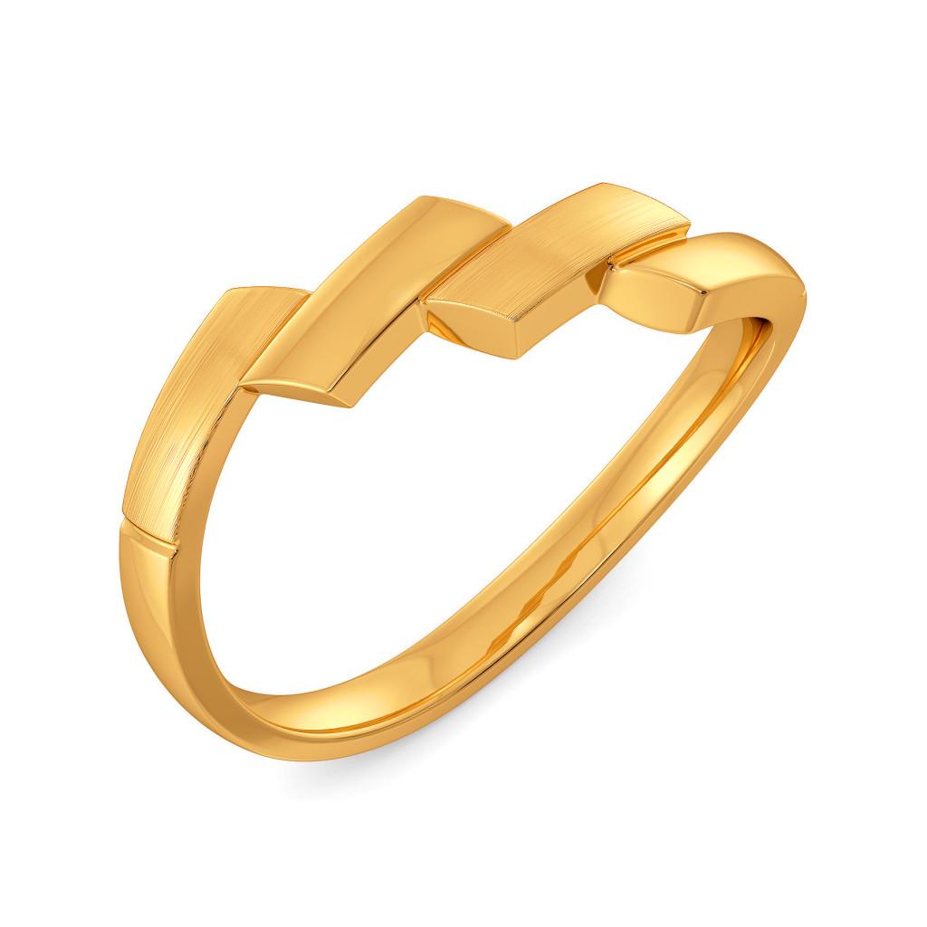 Mademoiselle Gold Rings