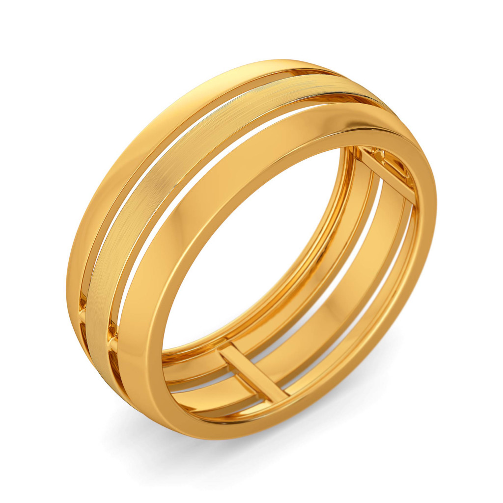 Dame francaise Gold Rings