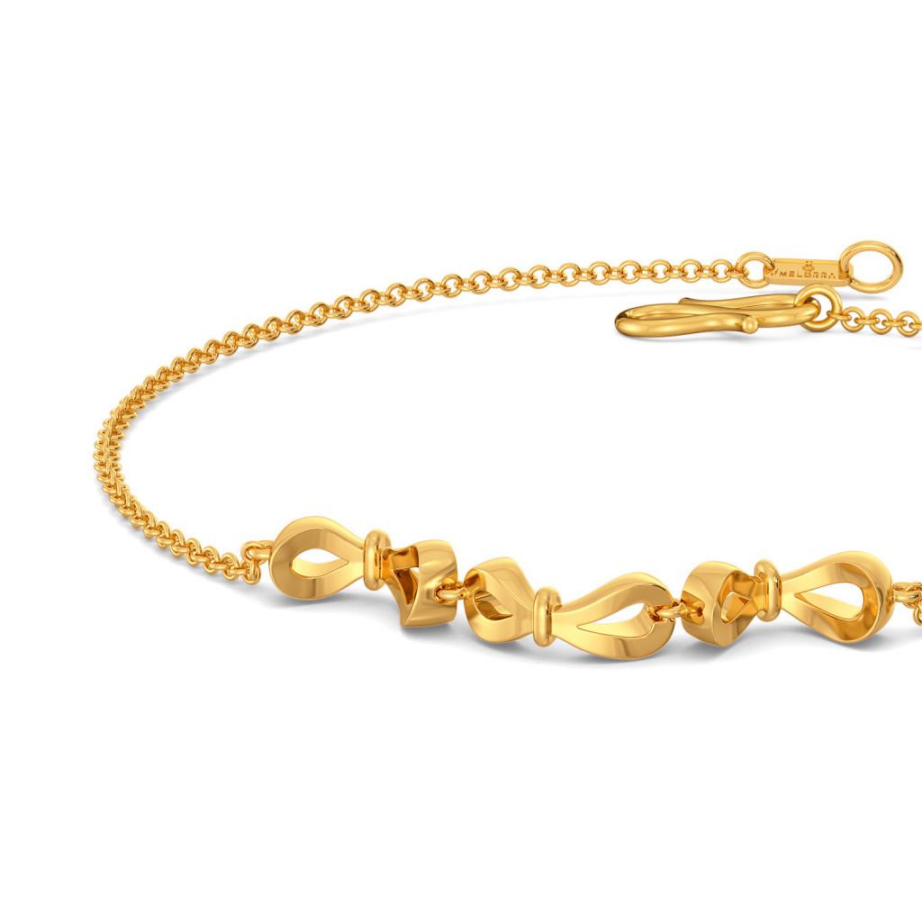 Lace Glaze Gold Bracelets