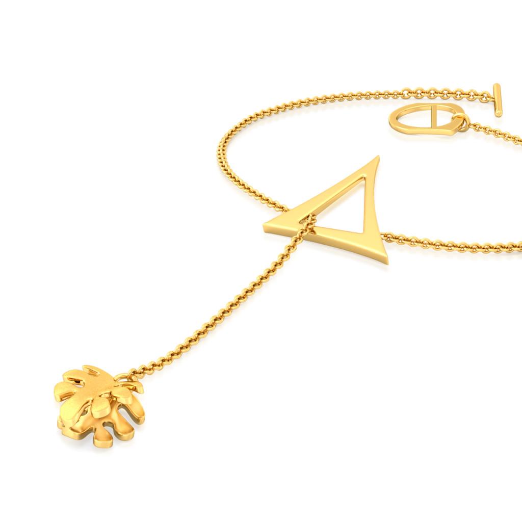 Oak Leaf Gold Bracelets