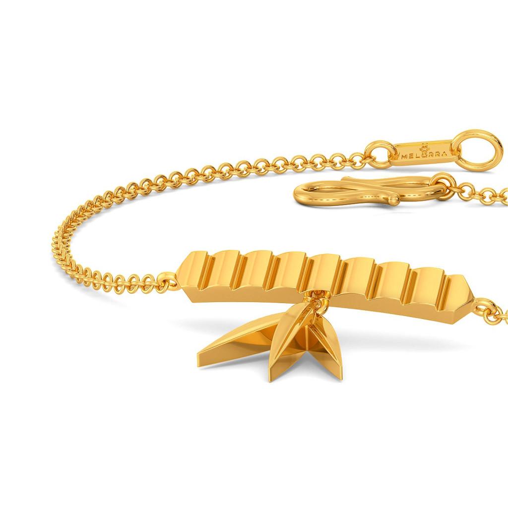 Fun o Fern Gold Bracelets