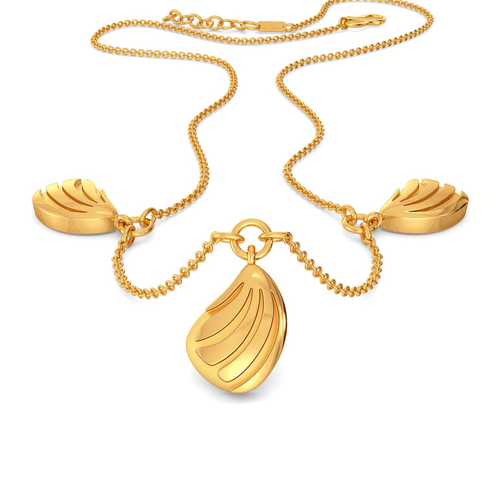 Scaly Daily Gold Necklaces