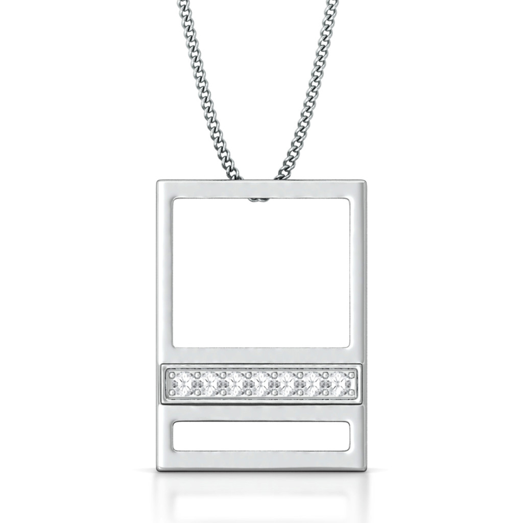 Step Up Diamond Pendants