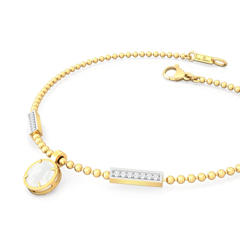 Moon Drops Diamond Bracelets
