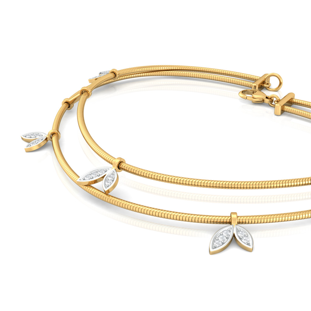 Bird of Paradise Diamond Bracelets