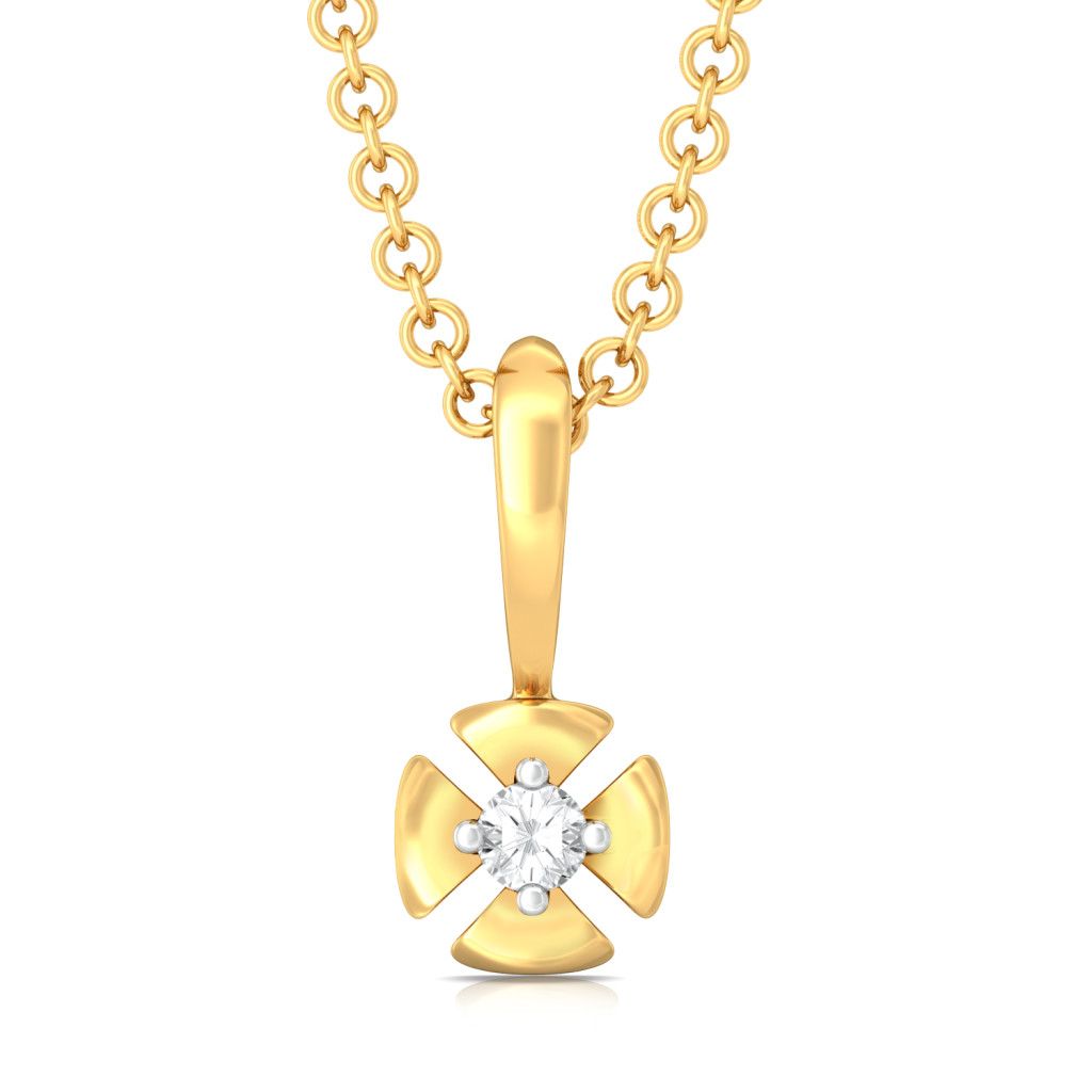 Petal Perfecto  Diamond Pendants