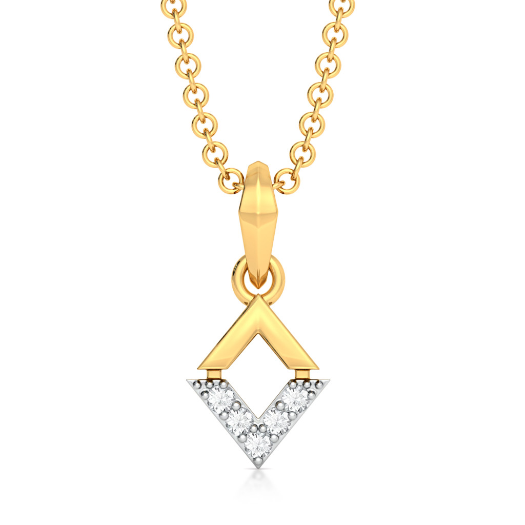 Dual Spectacle Diamond Pendants