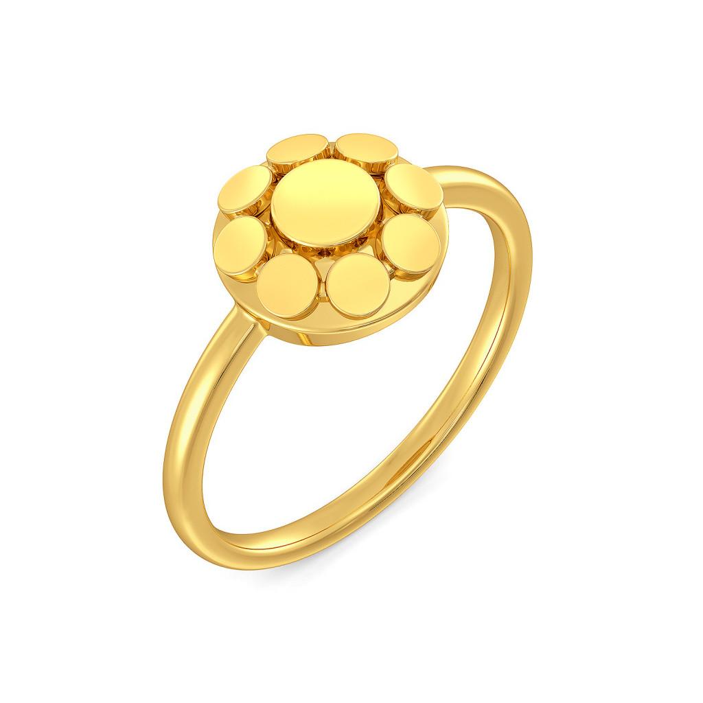 A Trinket Junket Gold Rings