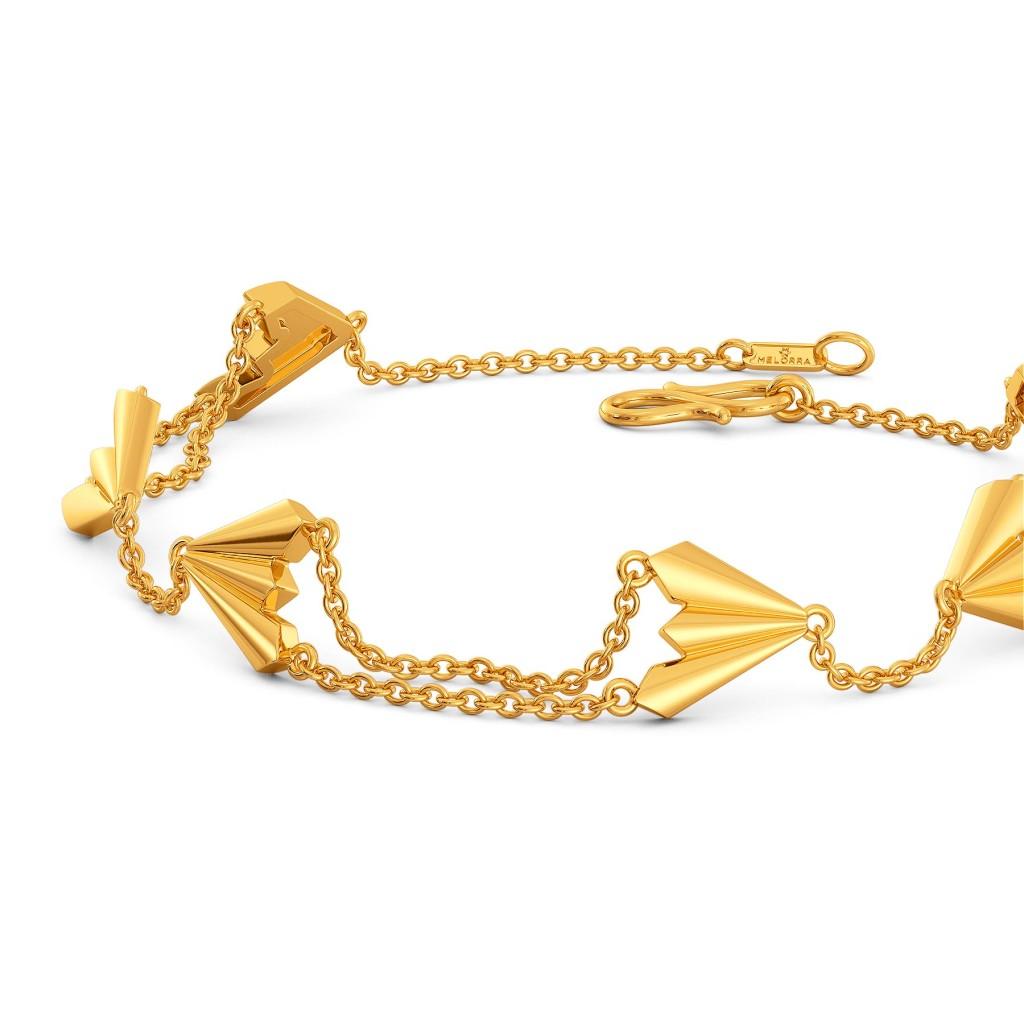 Rockabella Gold Bracelets