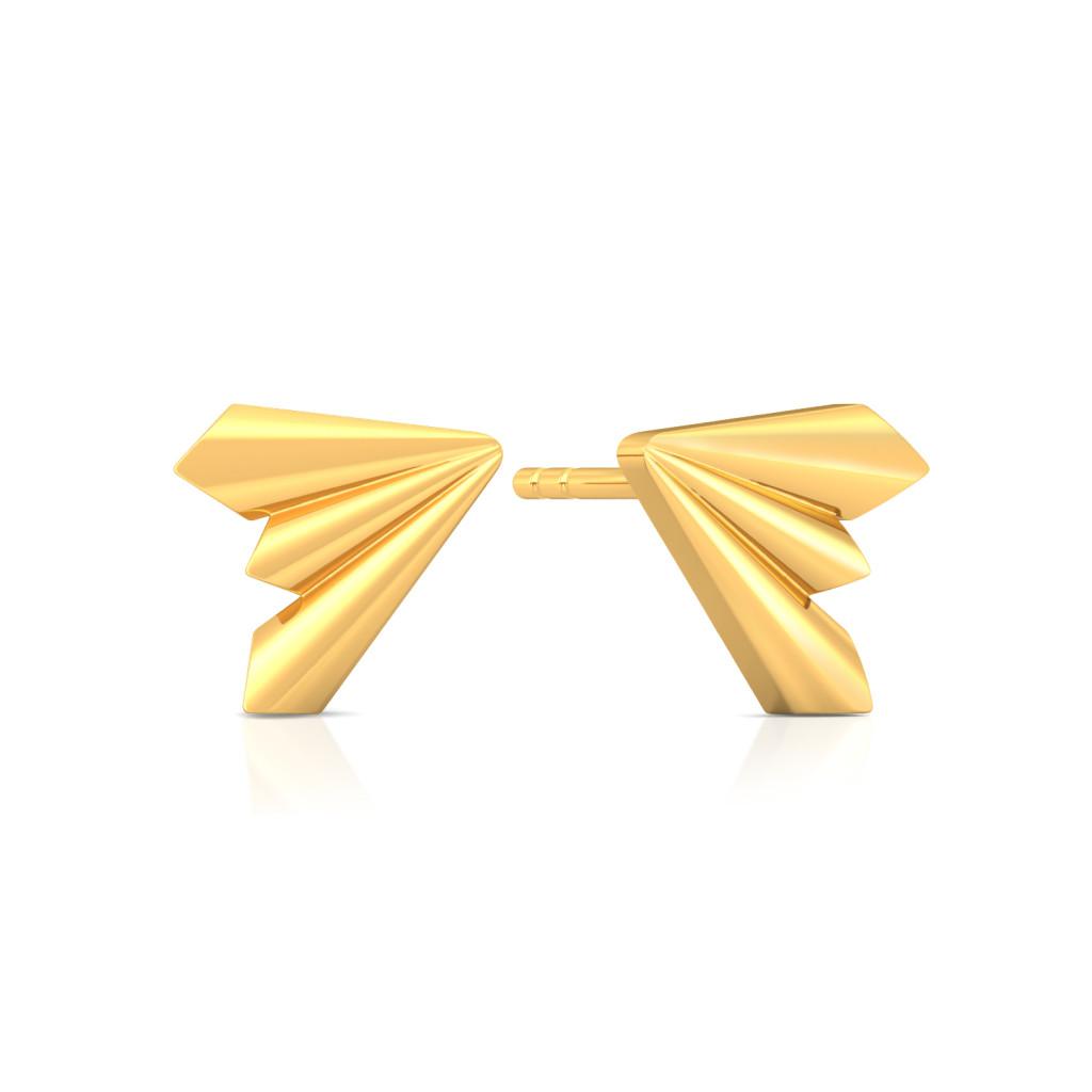 Rockabella Gold Earrings