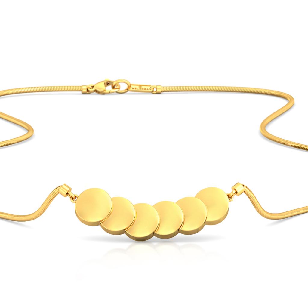Fringesque Gold Necklaces