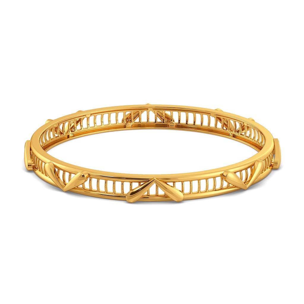 Joli Petale Gold Bangles