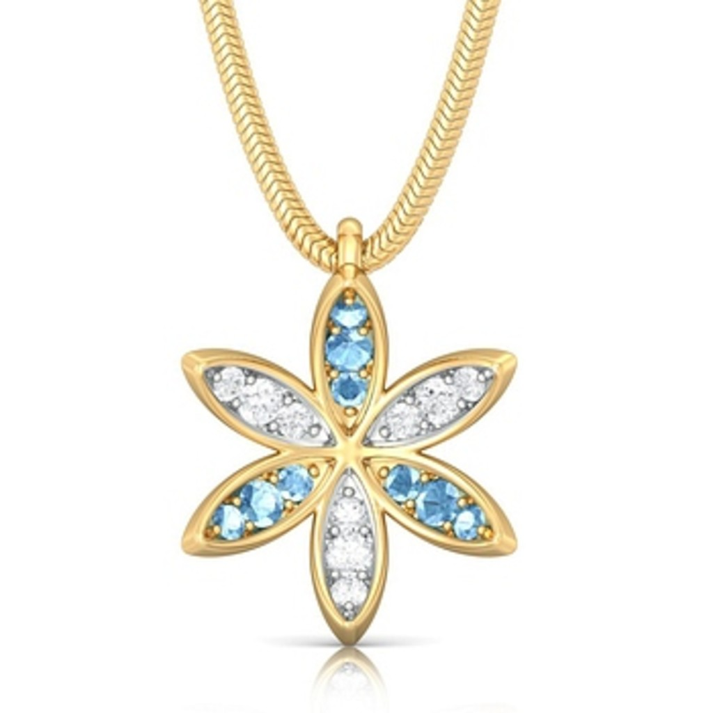 Flower Rush Diamond Pendants