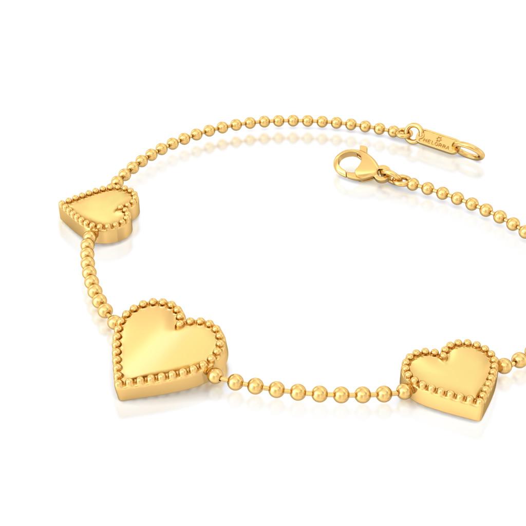 Picture Pretty Gold Bracelets