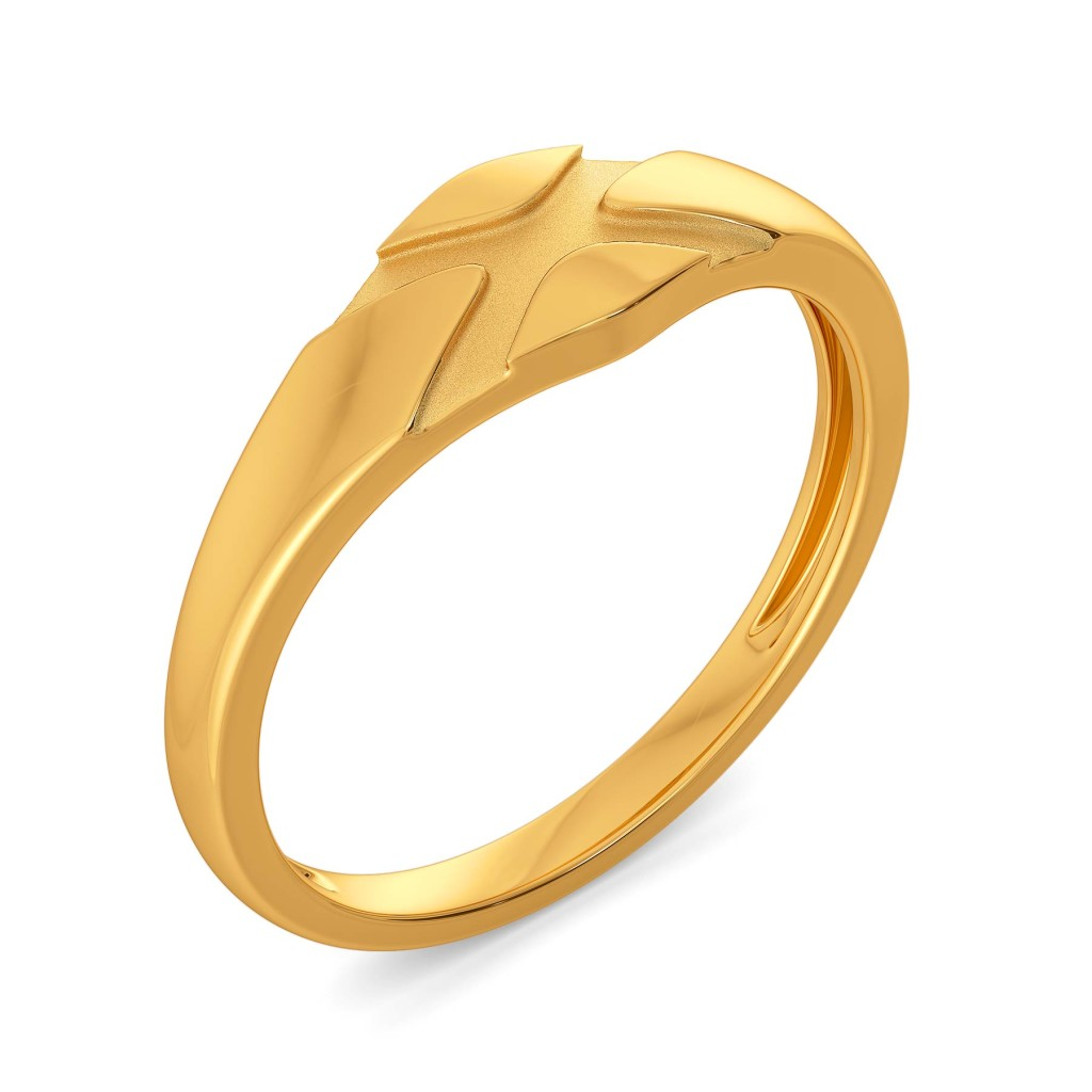 Edgy Essentials Gold Rings