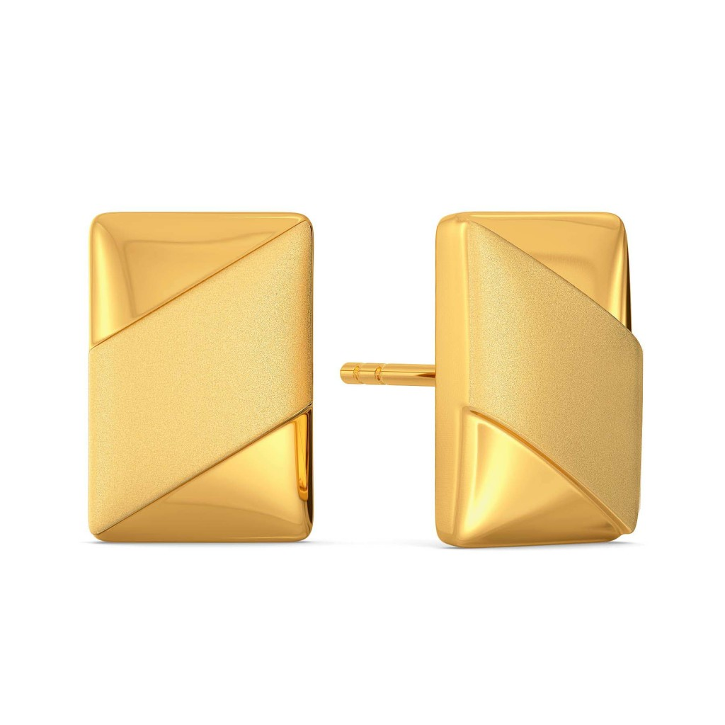 Uber Understated Gold Earrings