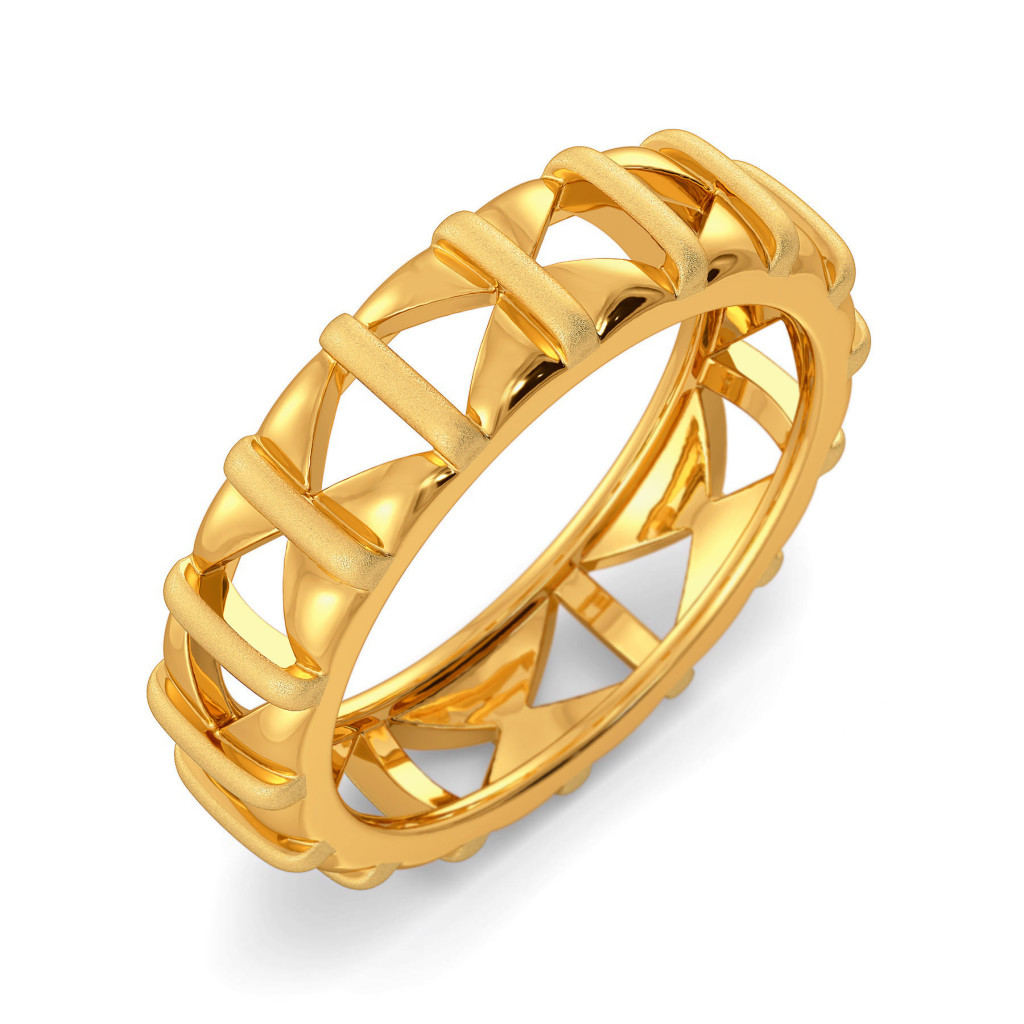 Sombre Story Gold Rings