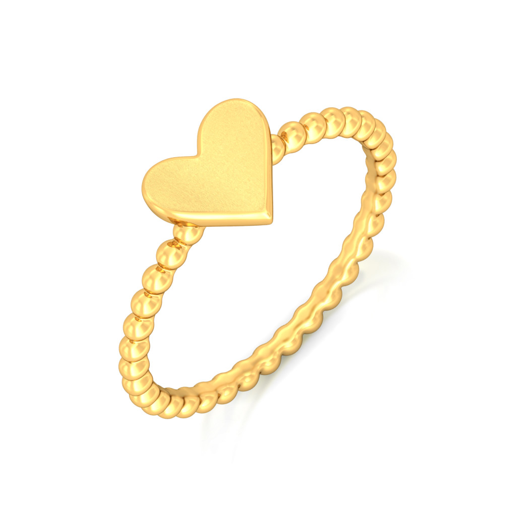 Love Me Tender Gold Rings