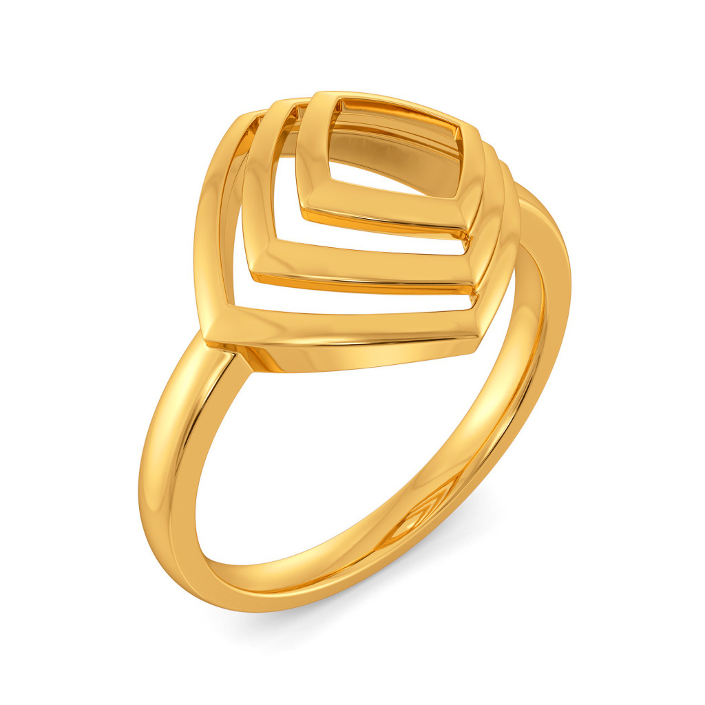 Trilogy Tales Gold Rings