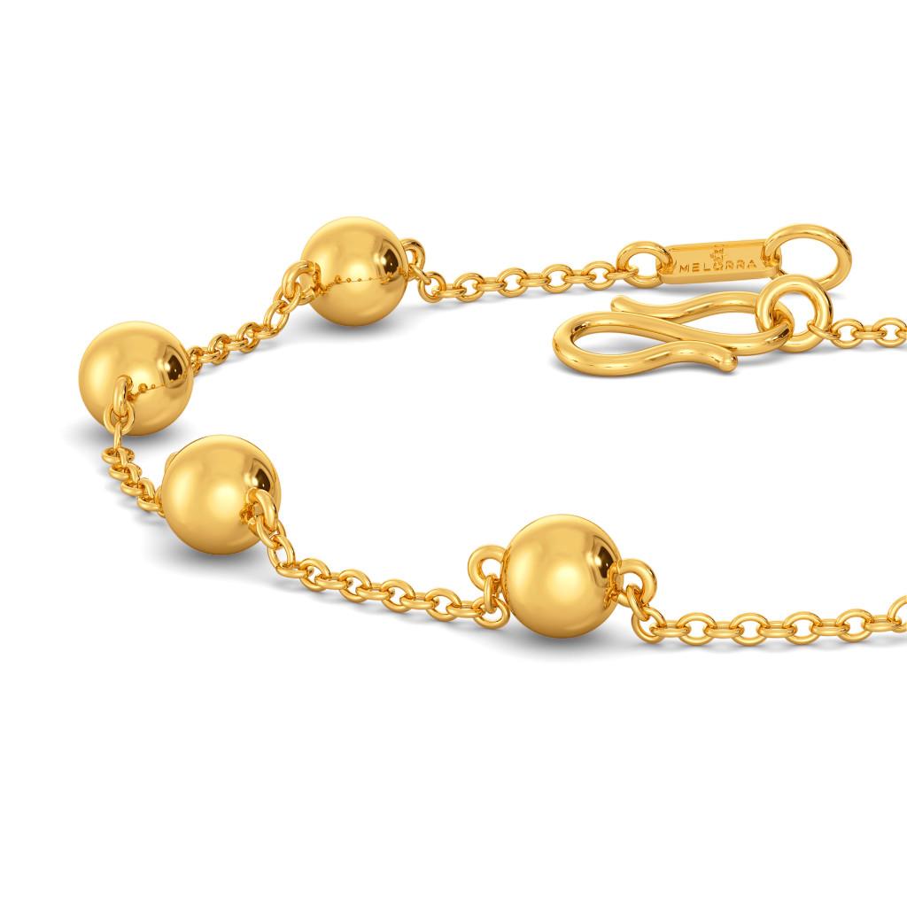 Spot the Dot Gold Bracelets