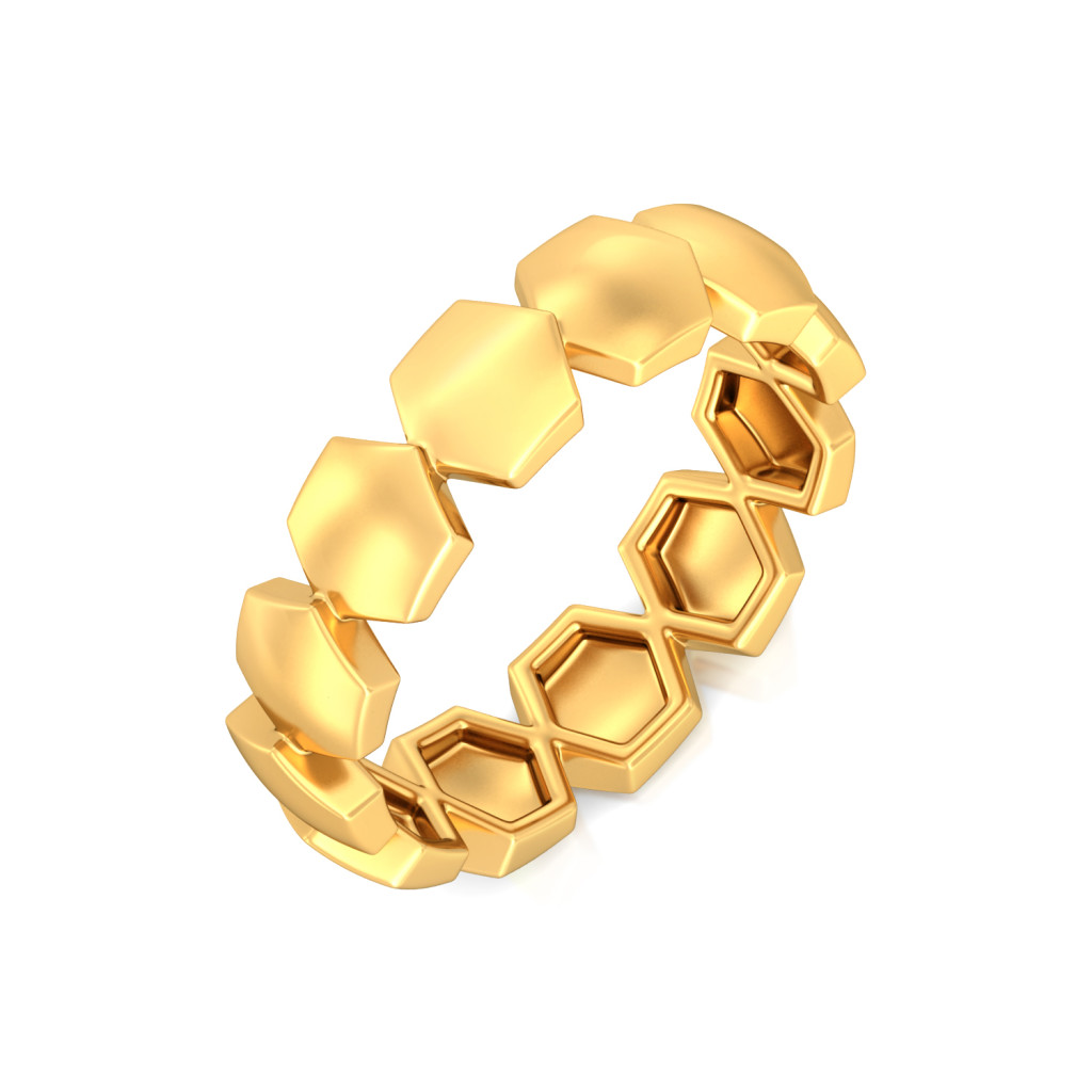 Ace A Maze  Gold Rings