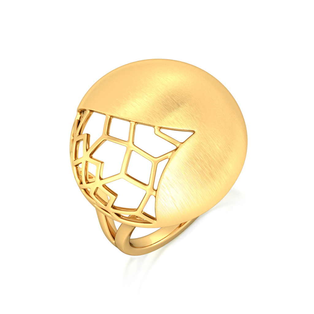 Golden Dome Gold Rings