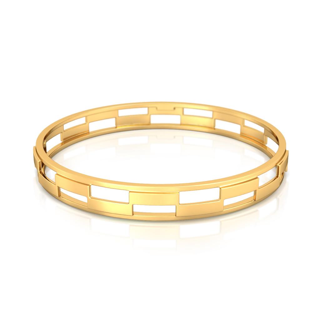 Bar Hops  Gold Bangles